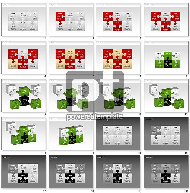 퍼즐 조각 다이어그램