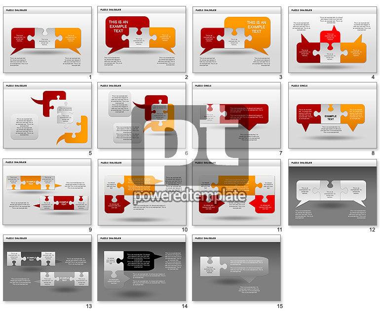 Puzzle Dialog Shapes