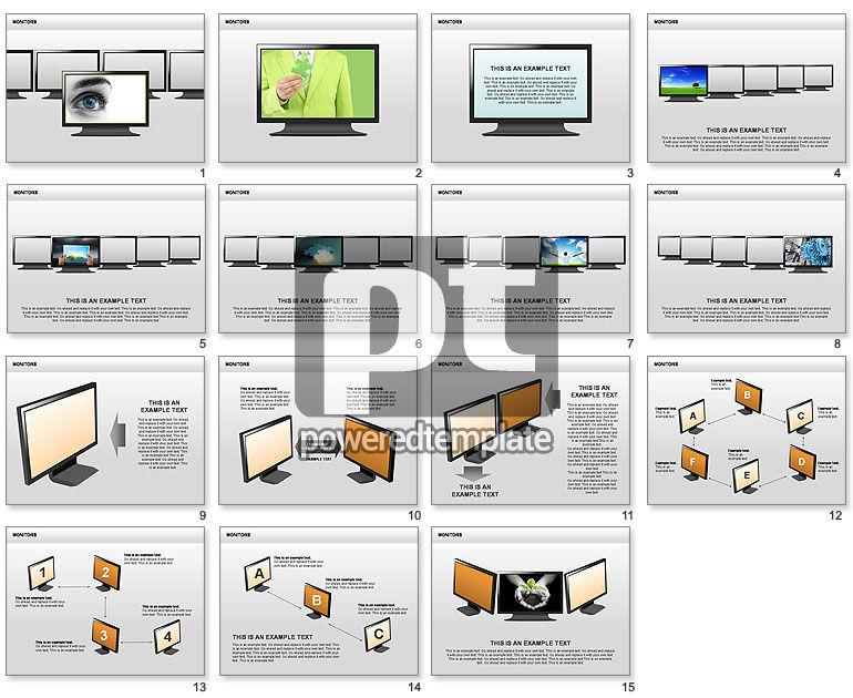 Monitor Shapes and Diagrams