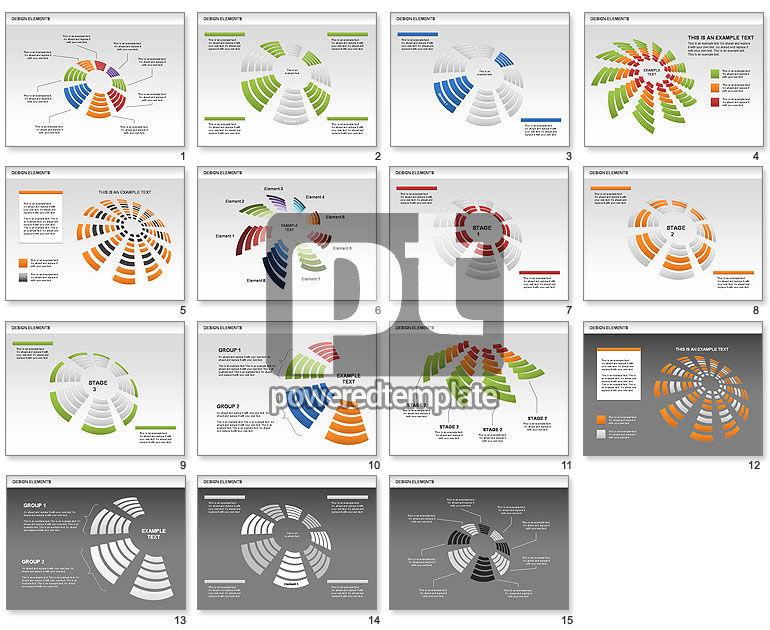 Pie Sectors Charts