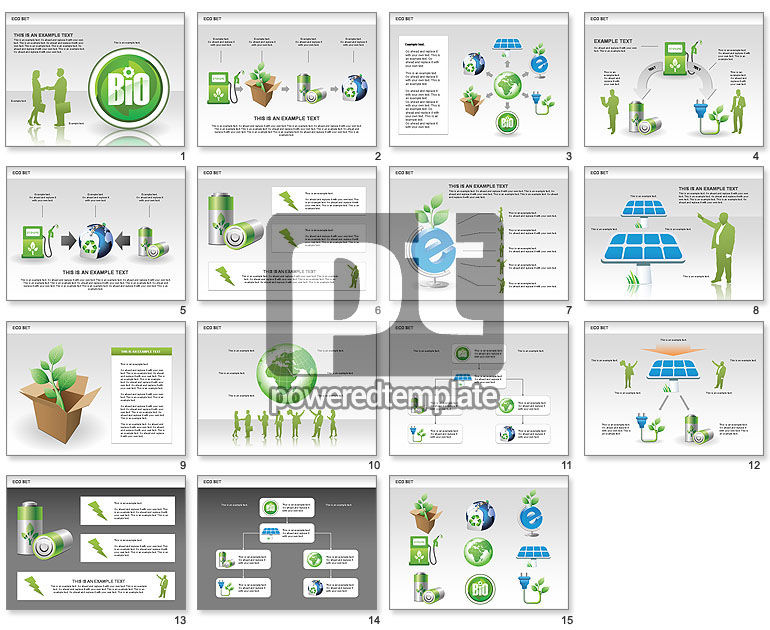 Ecology Shapes, Icons and Diagrams