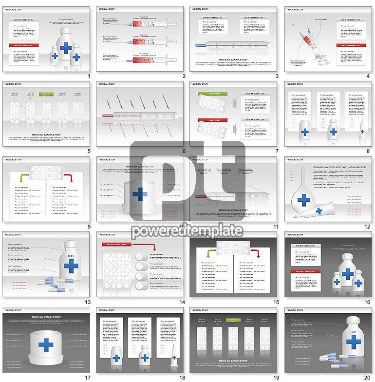 의료 차트 및 모양