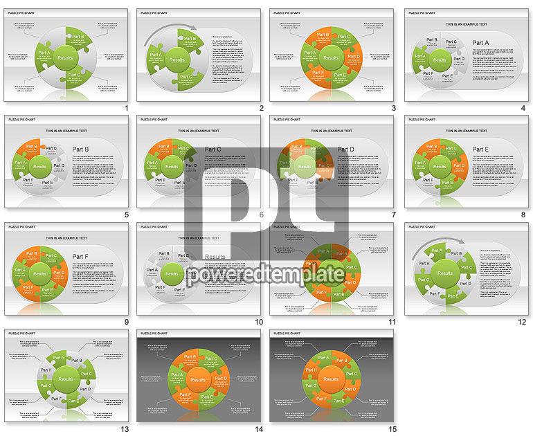 Puzzle Pie Chart