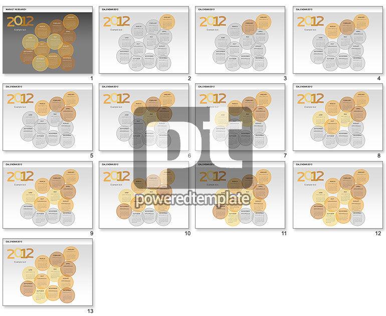 PowerPoint Spots Calendar 2012