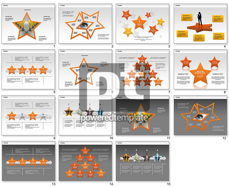Stars Shapes and Diagrams