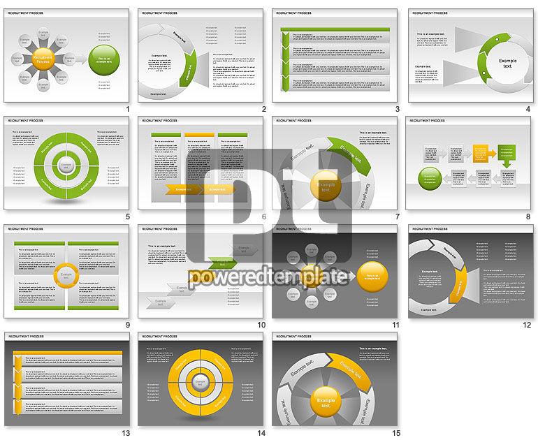 Recruitment Process Donut Diagram