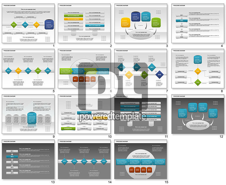 Process Timeline Diagram