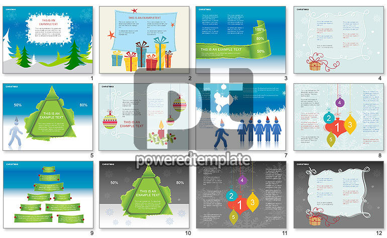 Christmas Shapes and Diagrams