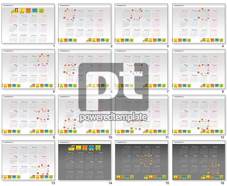 PowerPoint Calendar 2012
