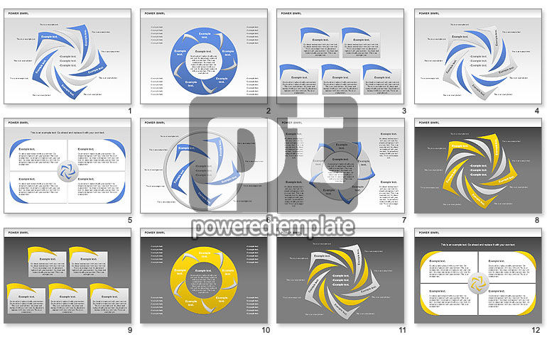 Power Swirl Chart
