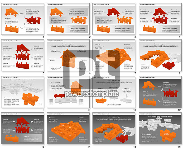 Real Estate Puzzle Charts
