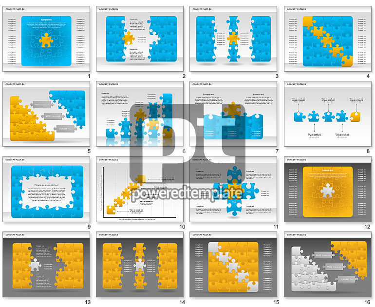 Concept Puzzles Chart