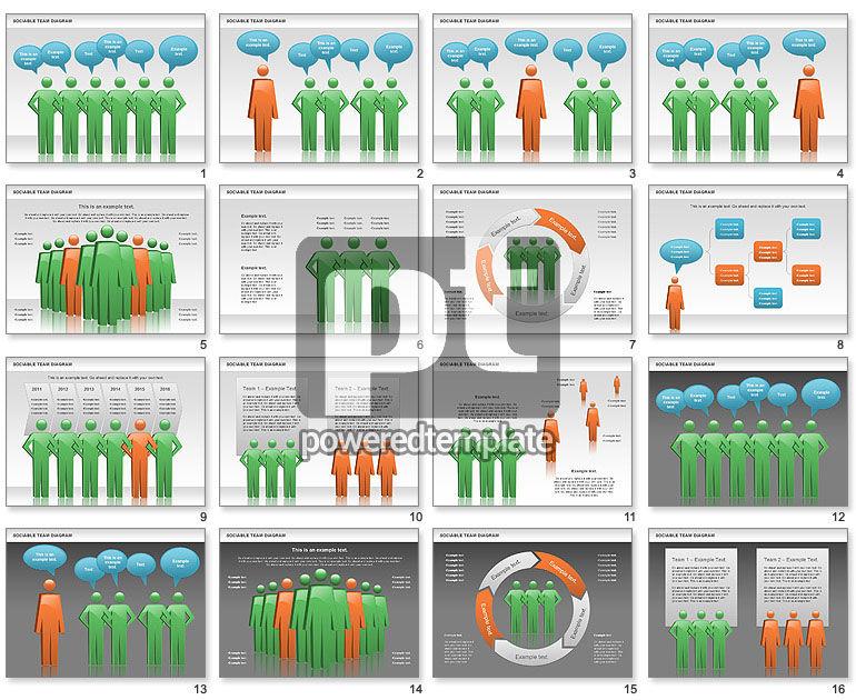 Sociable Team Diagram