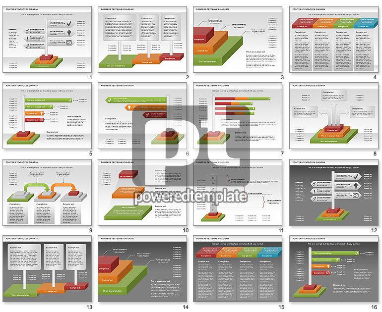 Pointers Textboxes Diagram