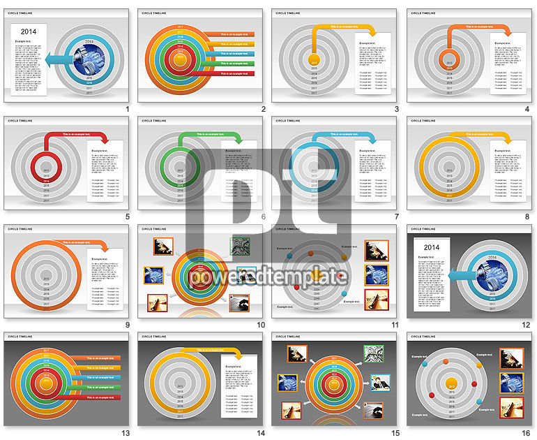 Circle Timeline