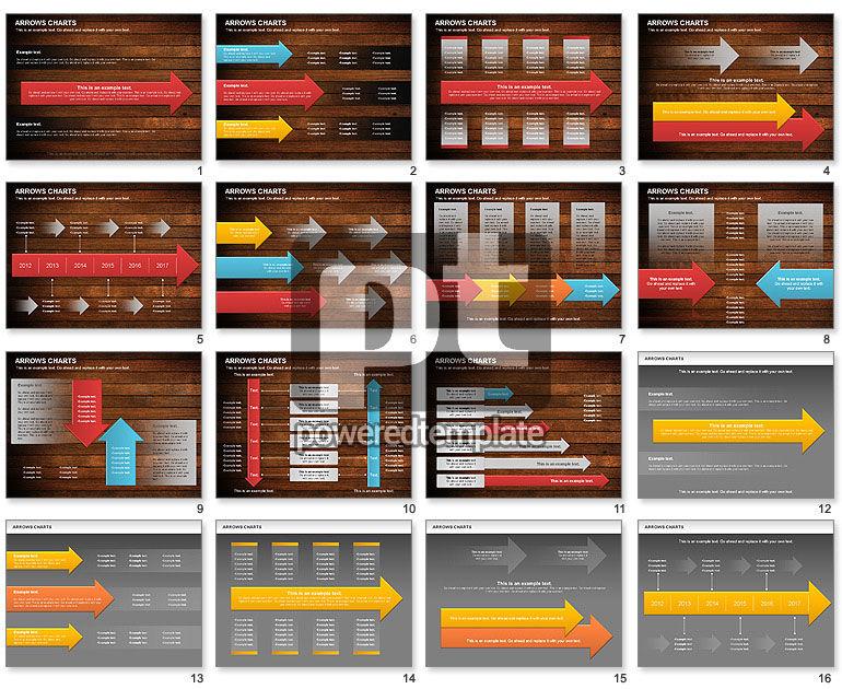 Arrows Timeline Diagram
