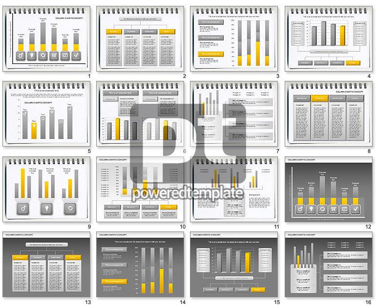 Column Chart Concept