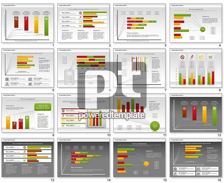 Icons Bar Chart