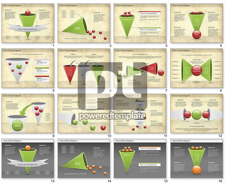 Cone and Balls Diagram