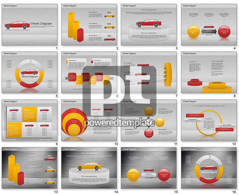 Automobil-Diagramm für PowerPoint Präsentationen, jetzt ...