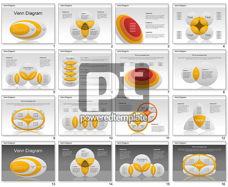 Venn Ellipse Diagram
