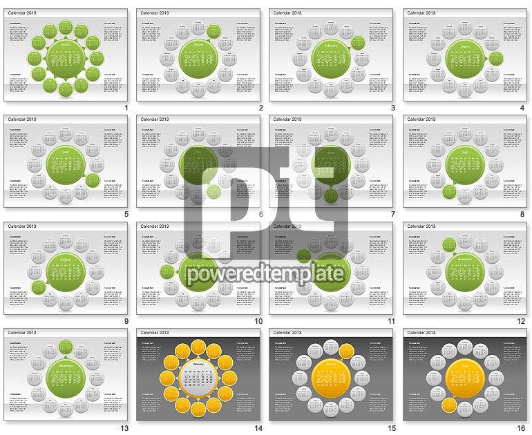 2013 PowerPoint Calendar