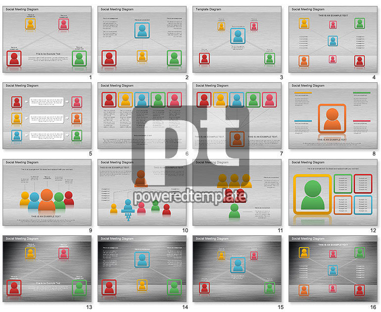 Social Meeting Diagram