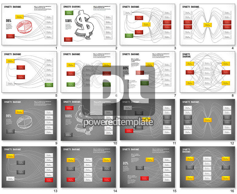Spaghetti chart for powerpoint presentations download now 01222 spaghetti chart ccuart Gallery