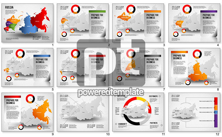 Russia Presentation Diagram