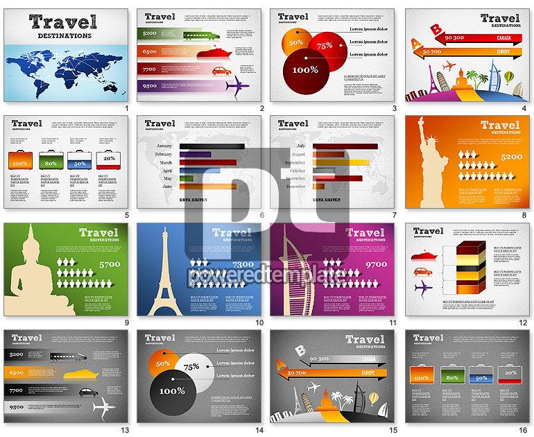 Travel Destinations Diagram