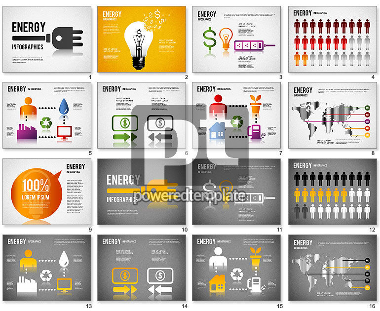 Energy Infographics for PowerPoint