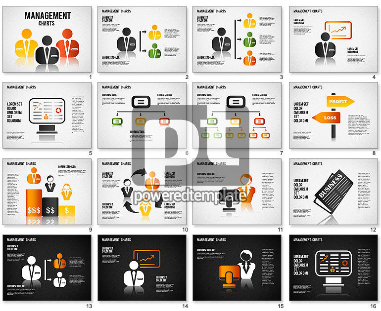 Management Diagrams and Icons