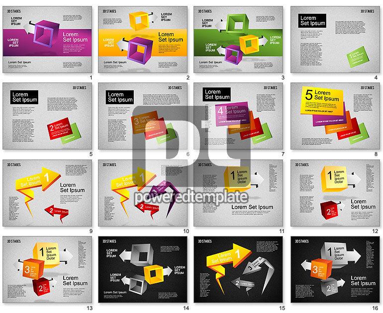 3D Stages Diagram