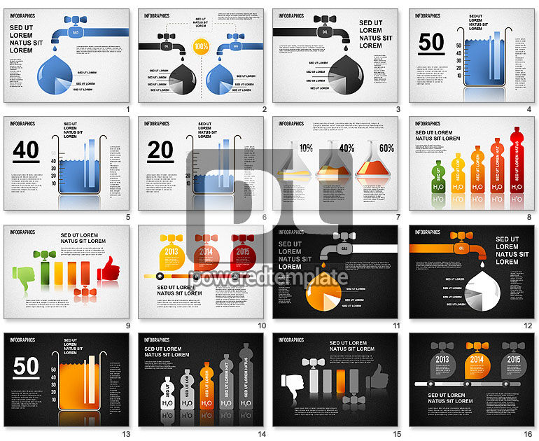 Oil and Gas Infographics
