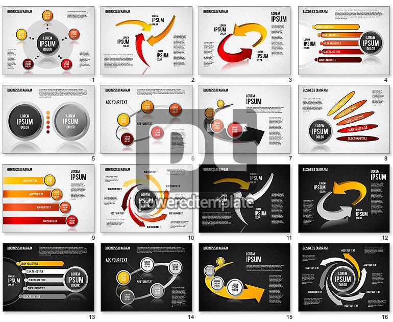 Diagrams and Shapes Set