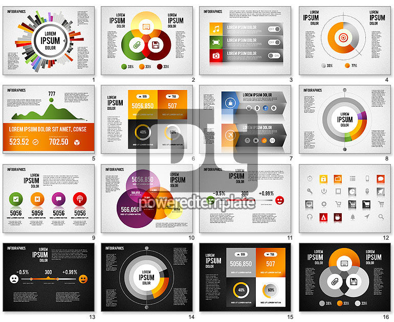 Collection d'infographies