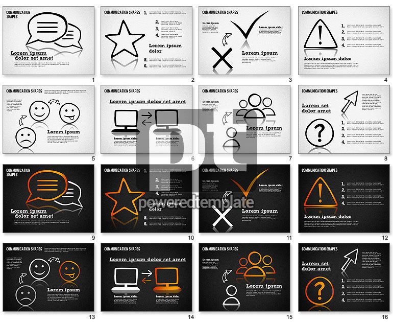 Communication Shapes Toolbox