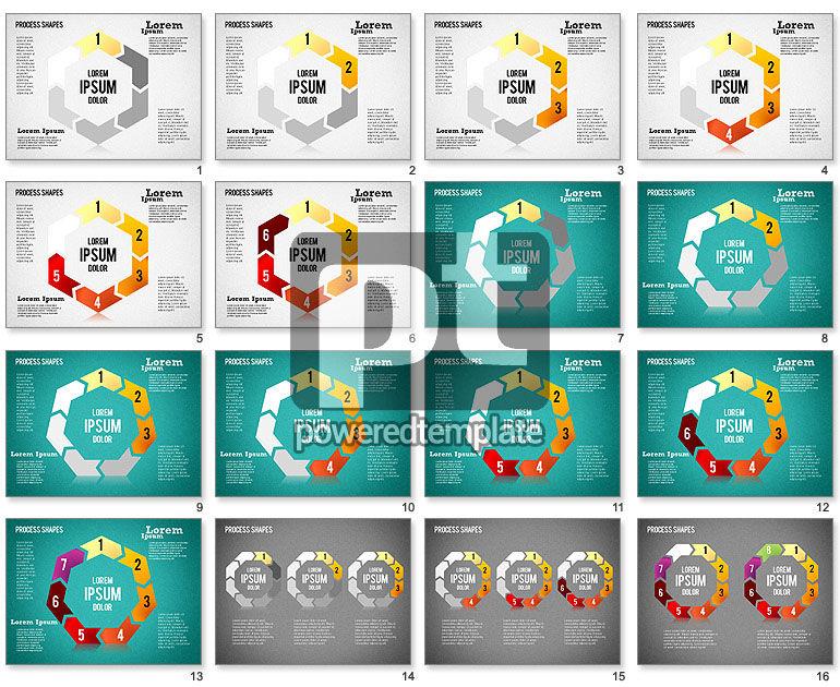Circular Process Shapes