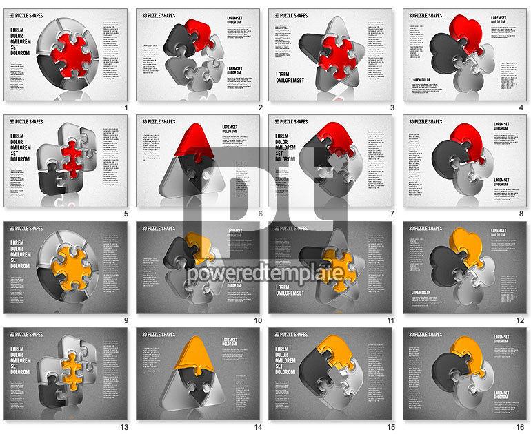 Puzzle Shapes 3D