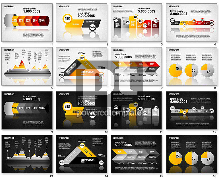 Infographic Chart Collection