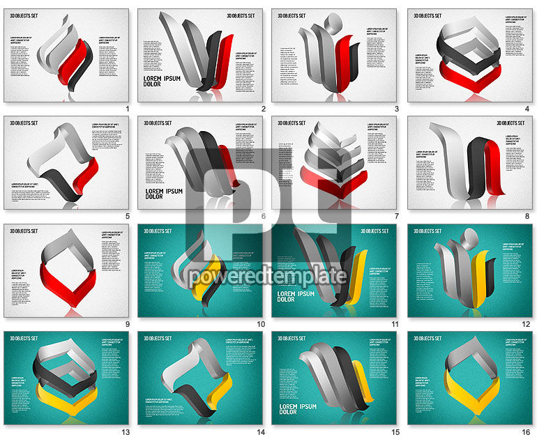 Free Shaped Symbols