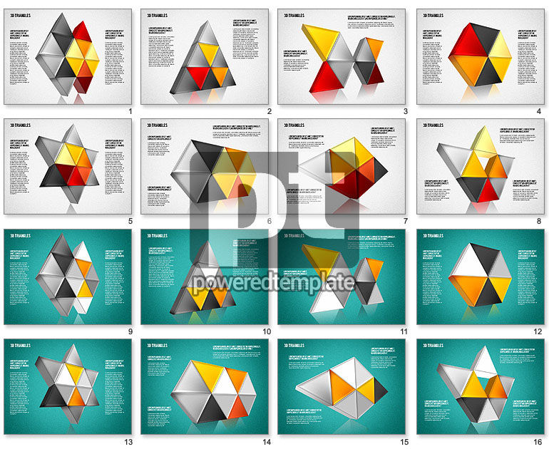 Shapes from Triangles