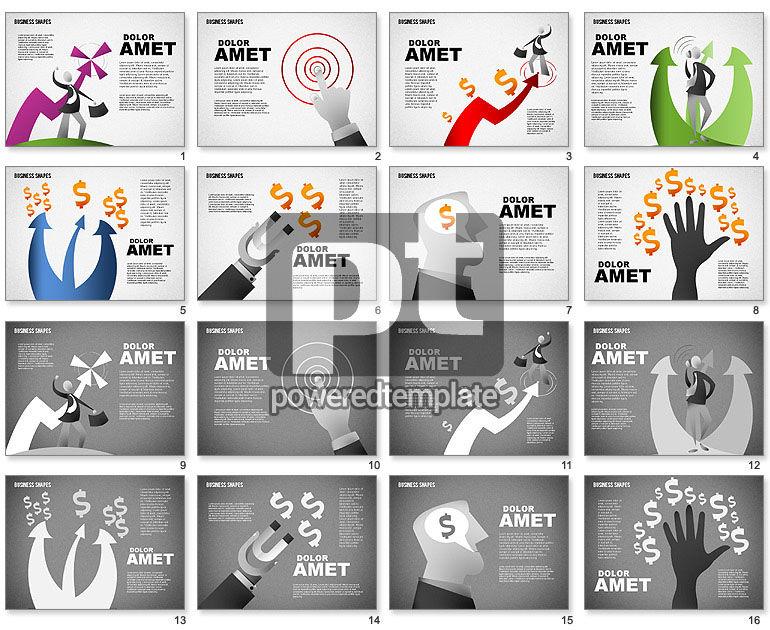 Make Profit Concept Illustrations