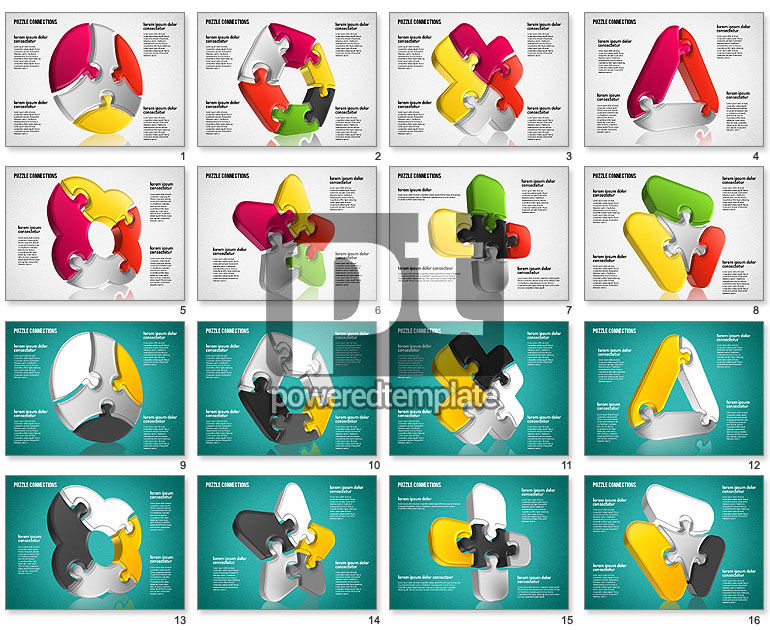 3D Jigsaw Shapes
