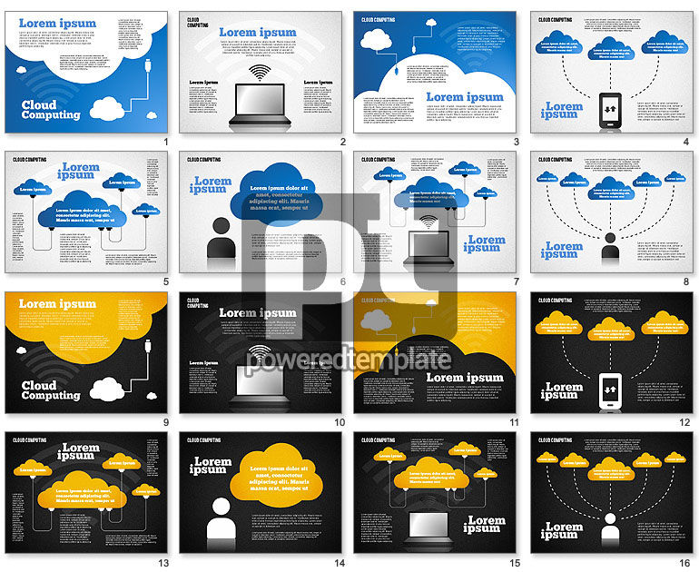 Cloud Distributed Computing Diagram
