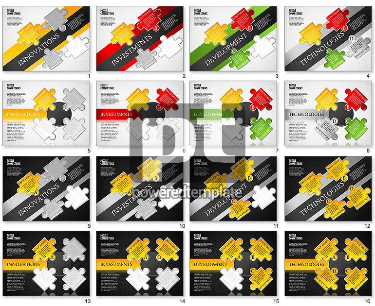 High-Tech Puzzle Diagram
