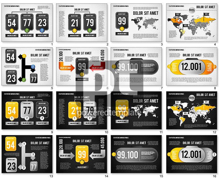 Road Statistics Infographics
