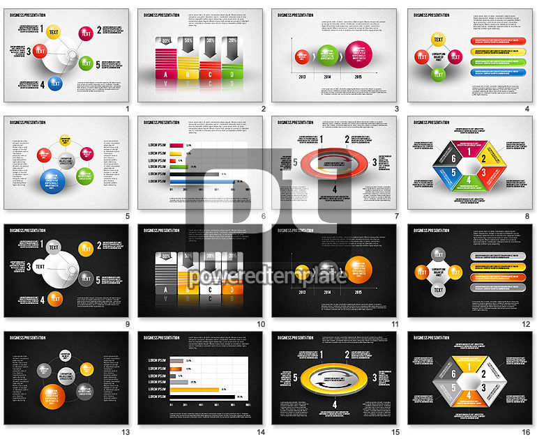 Business Presentation Diagrams