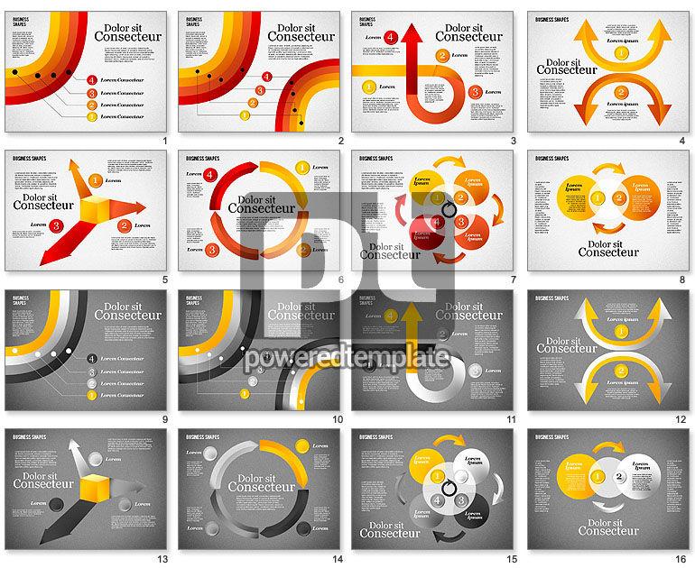 Presentation Shapes Set