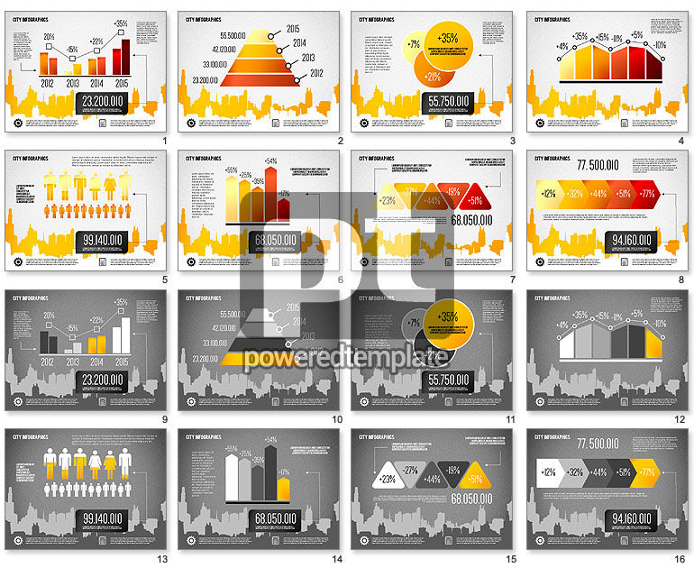 City Presentation Infographics